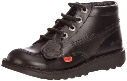 Kickers Kick Hi Y Core, Unisex-Kinder Stiefel, Schwarz (Black), 38 EU (5 UK) (Stiefel Hi Kick Kickers)