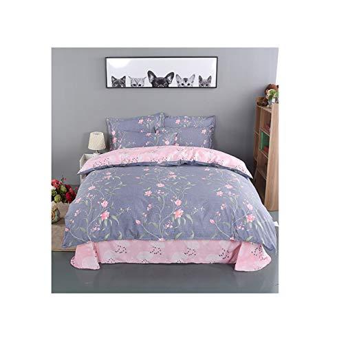 The Unbelievable Dream Bettbezug doppelseitige bettwäsche Set Baumwolle waschbar einfache niedliche Kinder Kinder Erwachsene Traum Blume Zweig, 5