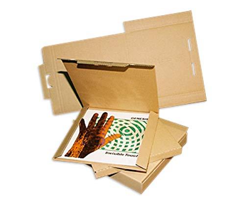 Wetter-vinyl (25 LP Versandkartons fuer 1-3 LPs Vinyl Versandkarton Postkartons (L/B/H) 322 x 322 x 10 mm)