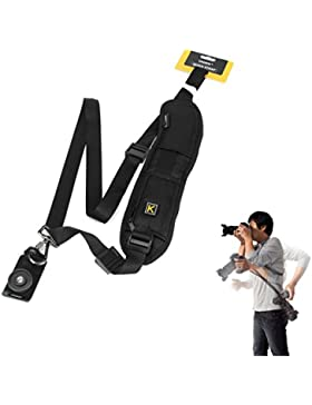 Yihya Quick Rapid Professional One Shoulder Camera Belt Sling Neck Camera Strap for Canon Nikon Sony SLR DSLR...