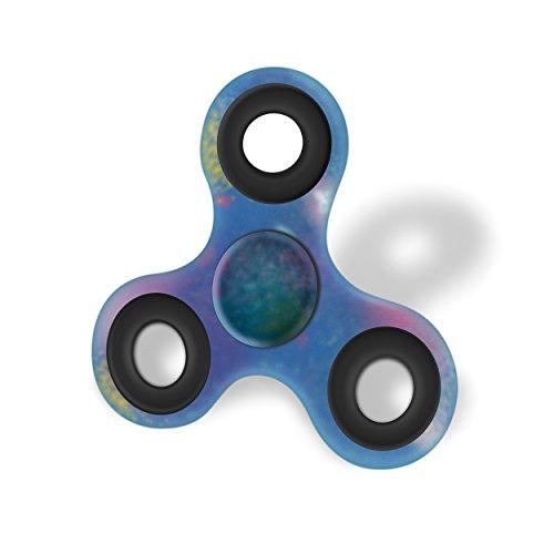Preisvergleich Produktbild Spinner Hand Spinner STERN BLAU Hoch Geschwindigkeit ABEC-7 Lange Drehnung Ideales Spielzeug zu entspannen, Pause, Urlaub, Stress Abbauen