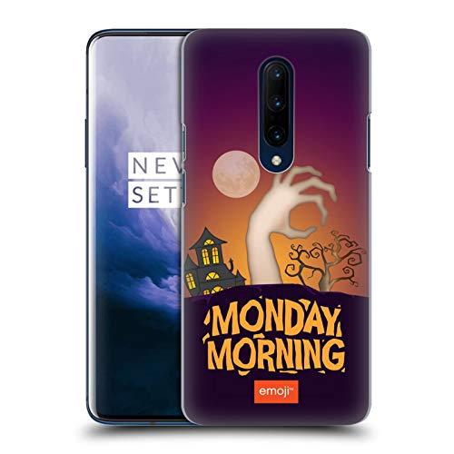 Head Case Designs Offizielle Emoji® Montagmorgen Halloween Parodien Harte Rueckseiten Huelle kompatibel mit OnePlus 7 Pro
