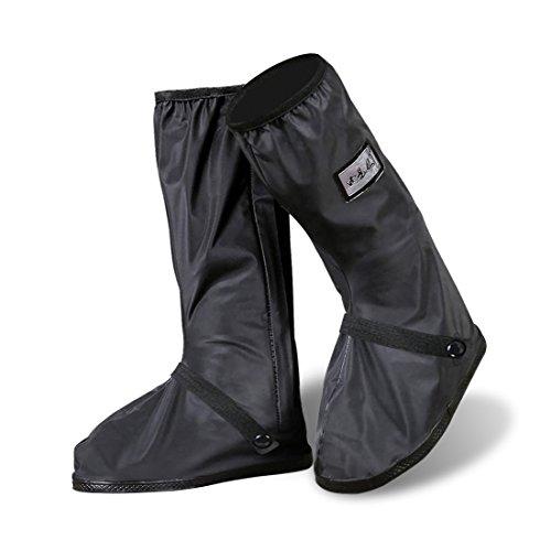 YMTECH Regenüberschuhe Wasserdicht Schuhe 1 Paar, Outdoor Rutschfester Radsportschuhe Überschuhe Test