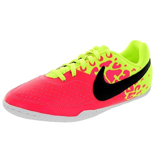 Nike  Jr Elastico II, Herren Sneaker Rosa / Gelb / Schwarz