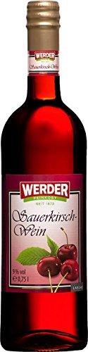 WERDER Sauerkirsch Wein 0,75 l Alk. 9 {7f351a7f38a2653442b1c8aec2f48d2344ad71482d74efabea6ac6454262367f} vol