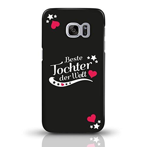 """JUNIWORDS Handyhüllen Slim Case für Samsung Galaxy S7 mit Schriftzug """"Beste Tochter der Welt"""" - ideales Weihnachtsgeschenk für die Tochter - Motiv 4 - Handyhülle, Handycase, Handyschale, Schutzhülle f motiv 1"""