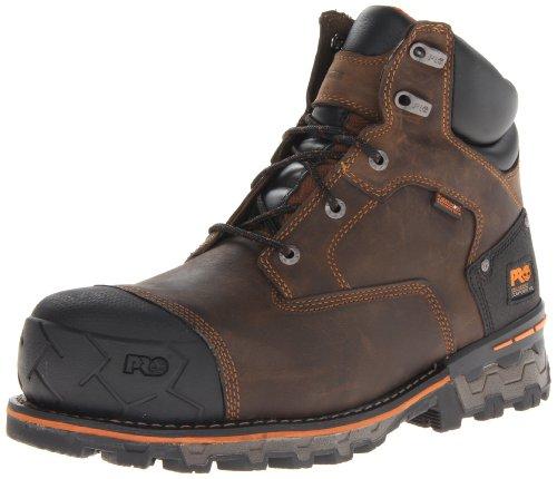 Timberland Pro Mens 6 In Boondock CT WP Shoe  9 5 2E UK  Dark Brown