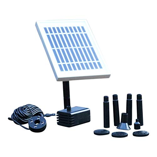 PK Green Bomba de Fuente Solar con batería de Reserva - 2W...