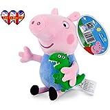 Peppa Pig Charaktere, ursprüngliche weiche Spielzeug: Papa, Mama, Peppa Pig & George erhältlich!