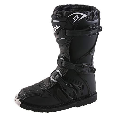 O'Neal Kids Rider Boot Schwarz Kinder MX Stiefel Moto Cross Enduro, 0324KR-1, Größe 37