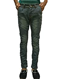 Men`s Jeans With Torn Design (used For Party Wear,Casual Wear) Latest Trendy Crush Jeans AFstore