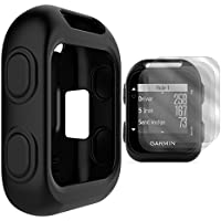 TUSITA Protective Cover for Garmin Approach G10 Handheld Golf GPS, Silicone Skin Case Accessories with Screen Protector