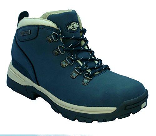 Stivali Da Donna Impermeabili E Leggeri In Pelle Per Escursioni / Escursioni In Montagna / Trekking Blu Scuro