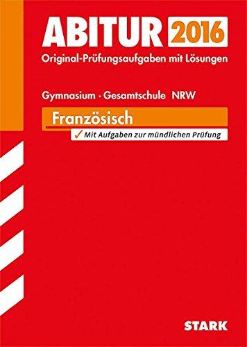 Abiturprüfung Nordrhein-Westfalen - Französisch GK/LK