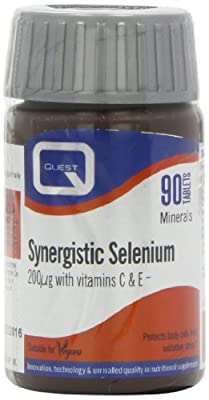 Quest Synergistic Selenium 200mcg - 90 Tablets by Quest Vitamins