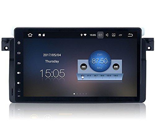 RoverOne Android 8.1 Sistema Navegación GPS del Coche para BMW Serie 3...