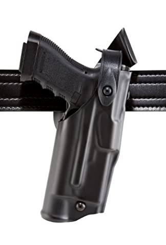 Safariland 6360 Level 3 Retention Als Duty Holster, Mid-Ride, Black, High Gloss, Right Hand, Glock 22 With M3