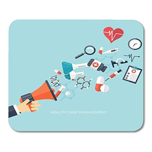 Mouse pad Medical Flat Health Care First Aid International Protection Insurance Medicine and Surgery Vaccination Office Supplies mouses pad Mousepad
