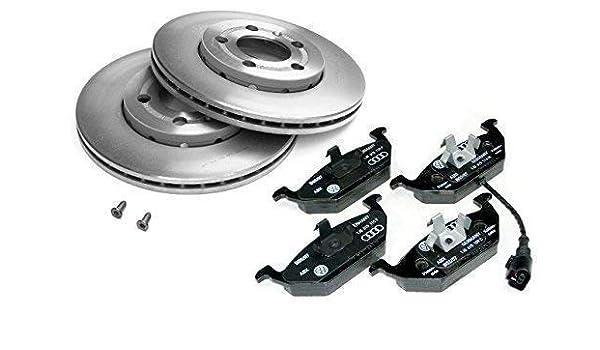 VW Fox Set 2 Bremsscheiben 4 Bremsbeläge vorne vorn für die Vorderachse