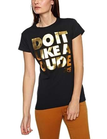 Bravado Jessie J Do It Like A Dude Woman's T-Shirt Black Large