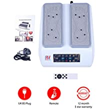 Easy Walker with USB - 30 Speed Leg Exerciser and Passive Walking Blood Circulation Machine with Remote Control for Healthy Legs by Roneyville - 30 Speed Levels, 3 Preset Programs, Magnotherapy / Magnetic Therapy and USB Audio Player