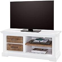 Tv lowboard weiß holz  Suchergebnis auf Amazon.de für: TV-Lowboard, weiß, Breite 120 cm