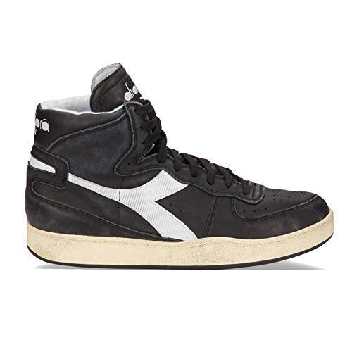 Sneaker Diadora Diadora Heritage zapatos zapatillas de deporte largas hombres en piel nuevo trident mid s sw negro EU 42 158569 00001 C0641