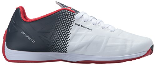 Puma - Herren Bmw Frau evoSPEED Spitze Schuhe Puma White/Puma White/Team Blue