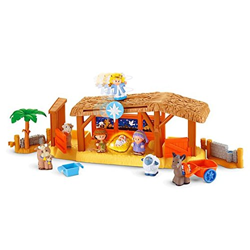 Fisher Price - Little People - Weihnachtskrippe / Nativity Playset