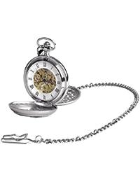 Woodford 1952/SK - Reloj de bolsillo analógico mecánico para hombre