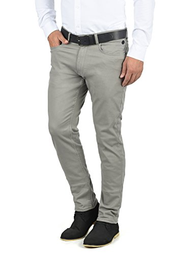 Blend Saturn Herren Chino Hose Stoffhose Aus Stretch-Material Regular Fit, Größe:W34/30, Farbe:Granite (70147)