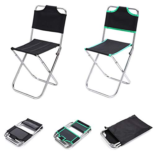 BRAVOSOLEIL Outdoor-tragbare Falten ChairLight Aluminiumlegierung Folding Moon Chair High Load 150kg Camping Strand Sitz Klappstuhl