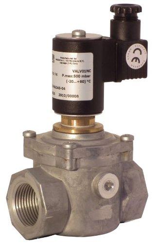 Elettrovalvola per intercettazione di gas a riarmo manuale VALV-1NC Attacco Rp 1