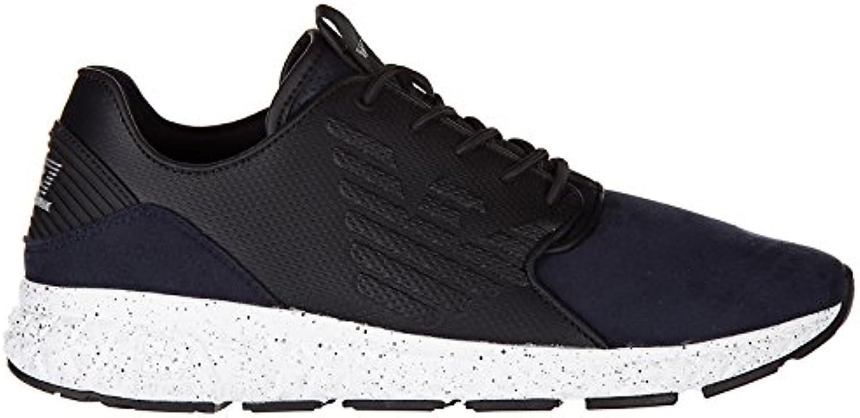 Emporio Armani EA7 Herrenschuhe Herren Schuhe Sneakers spirit winterized blu