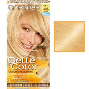 teinture pour les cheveux couleur permanent belle color 110 blond chiarissimo naturel - Belle Color Blond Naturel