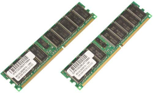 266 Mhz Kit (MICROMEMORY 2 GB KIT DDR 266 MHz ECC/REG KIT of 2 x 1 GB DIMM, mmg1251/204)