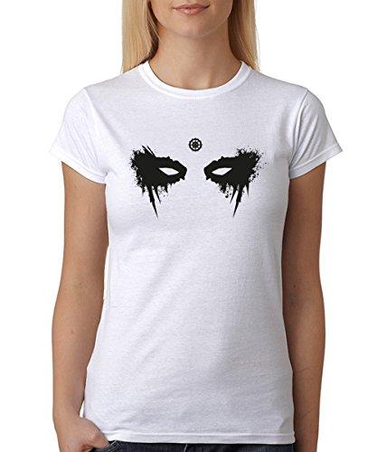-- Heda Eyes -- Girls T-Shirt Weiß