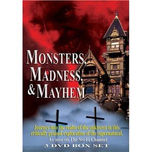 Monsters, Madness & Mayhem : The Sci-Fi Channel 3 Disc Box Set : The Devil , Witches , Creatures , Superstitions , The History Of Halloween