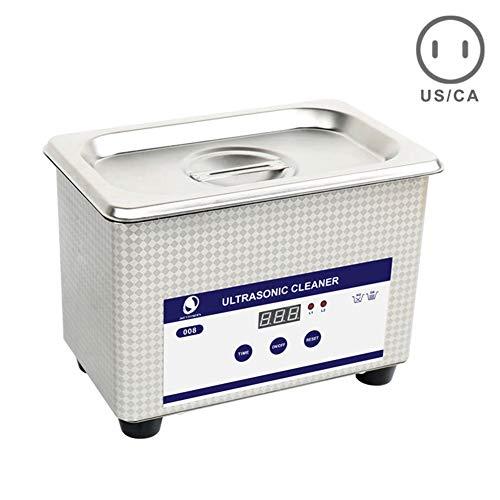 Wellouis - Cestello digitale per pulizia a ultrasuoni US Plug