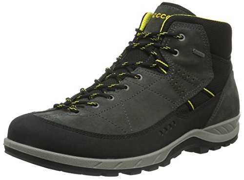 Ecco Yura, Chaussures Multisport Outdoor Homme Gris (BLACK/DARK SHADOW56340)