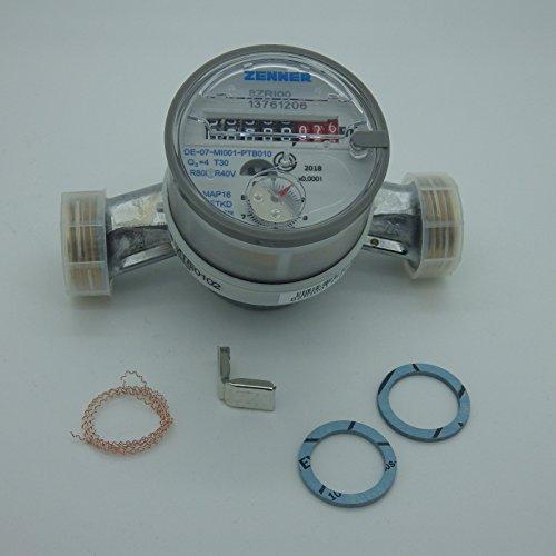 Wasserzähler ETKD-M für Kaltwasser - Anschluss 1 Zoll ETKD Q3=4 (Qn 2,5) Baulänge 130 mm