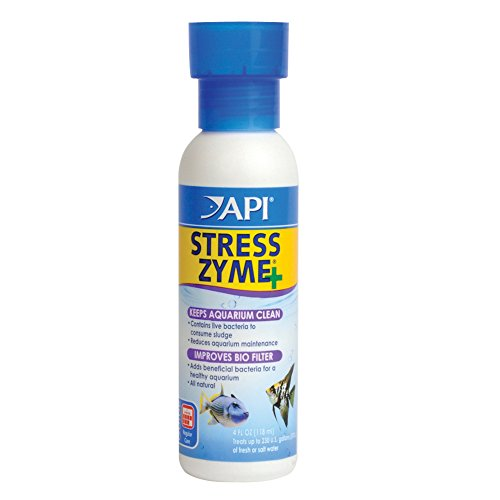 API Stress Zyme Freshwater and Saltwater Aquarium Cleaning Solution
