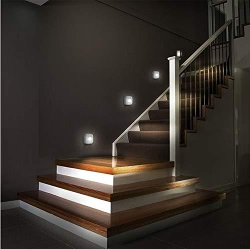 Led sensor nachtlicht dual induktion pir infrarot motion sensor lampe magnetische infrarot wandleuchte schrank treppen licht -