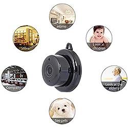 XC Smart Home Mini-Kamera Home HD Nachtsicht-Netzwerk-Kamera Mini HD 1080P Drahtlose WiFi-Netzwerk-Kamera Handy-Fern Monitor