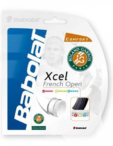 Babolat Tennissaiten-XCEL French Open-Schwarz-12M Set