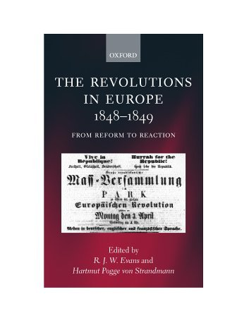 The Revolutions in Europe, 1848-9: From Reform to Reaction (2000-03-02)