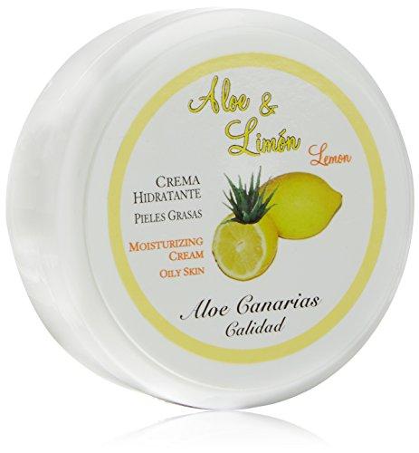 Aloe Canarias 200100 - Crema de aloe vera y limón