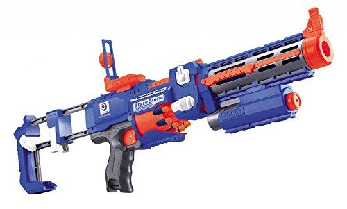 Elektrisches Pfeil Spielzeug-Gewehr Darts Strike Pfeile Waffe Kinder Airsoft Softair 20 Soft-Pfeilen Spielzeug-Blaster