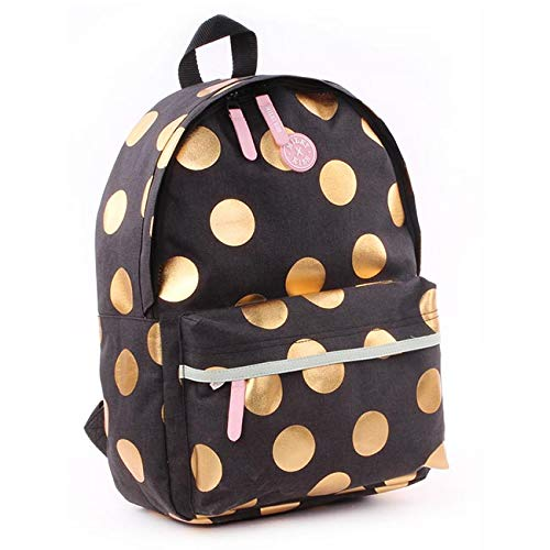 Milky kiss backpack be you large zainetto per bambini, 39 cm, nero (black)