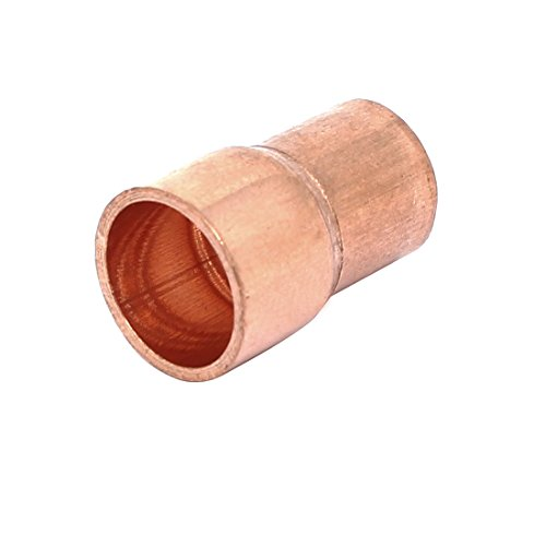 Sourcing map 10mmx8mm Reductor tubo recto cobre Aire